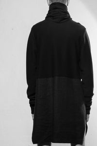 TURTLE NECK LONG BLACK