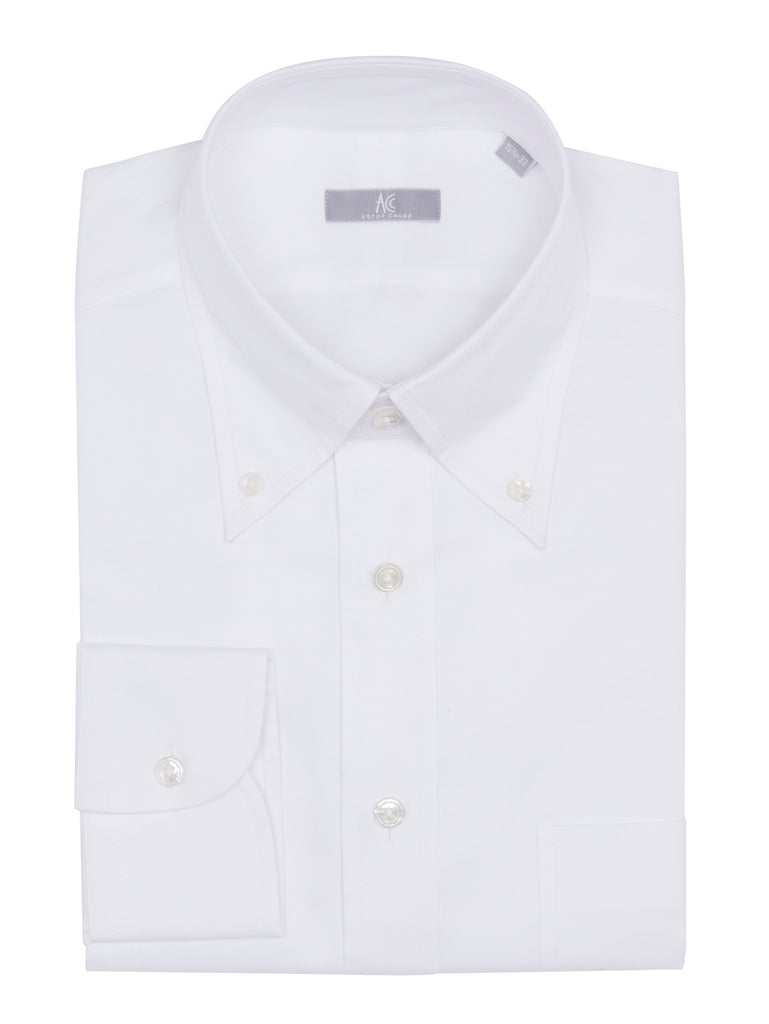 White Cotton Oxford Shirt