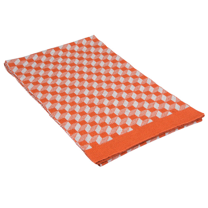 CUBOID SCARF - ORANGE