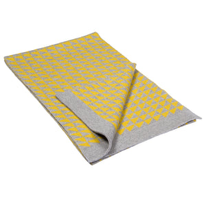 TRIANGLE SCARF - YELLOW