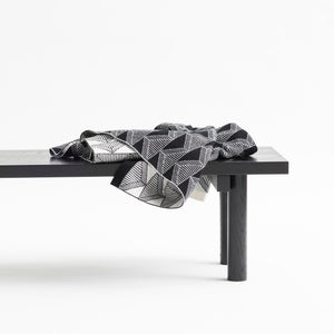 JENNIFER KENT AND DEREK WELSH COLLABORATION - BLACK + WHITE BLANKET