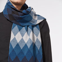 ECHO SCARF - BLUE
