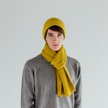 RIB SCARF - YELLOW