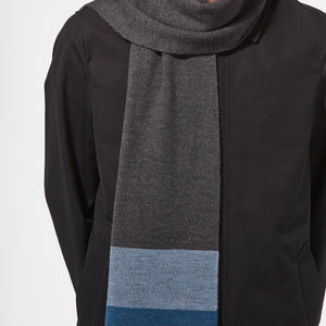 HORIZON SCARF - BLUE