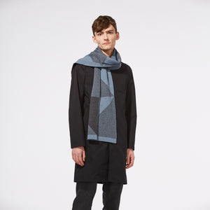 REFLECT SCARF - BLUE