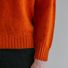 SHETLAND SWEATER - ORANGE