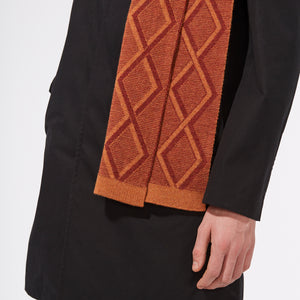 TRANSFER SCARF - ORANGE