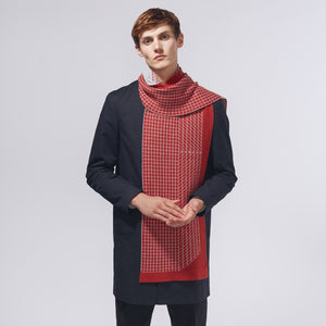 DIMENSION SCARF - RED