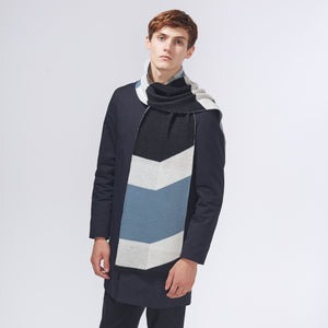 SHIFT SCARF - BLUE