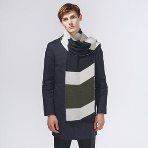SHIFT SCARF - KHAKI