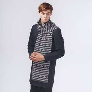 THOMSON SCARF - CHARCOAL