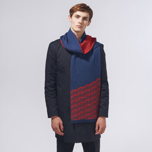 RISE SCARF - RED