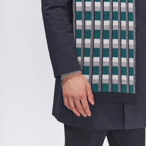 TOWER SCARF - GREEN