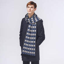 TOWER SCARF - NAVY