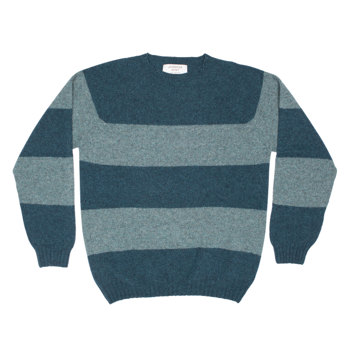 STRIPE SWEATER - GREEN