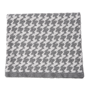 THROW - MEDIUM GREY
