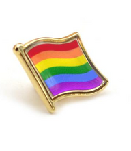 Rainbow Pride Flag Pin Badges
