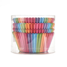 Rainbow Cupcake Cases 7cm (100 pieces)