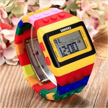 Rainbow 'Lego-Style' Digital Watch - 50% off for Limited Time
