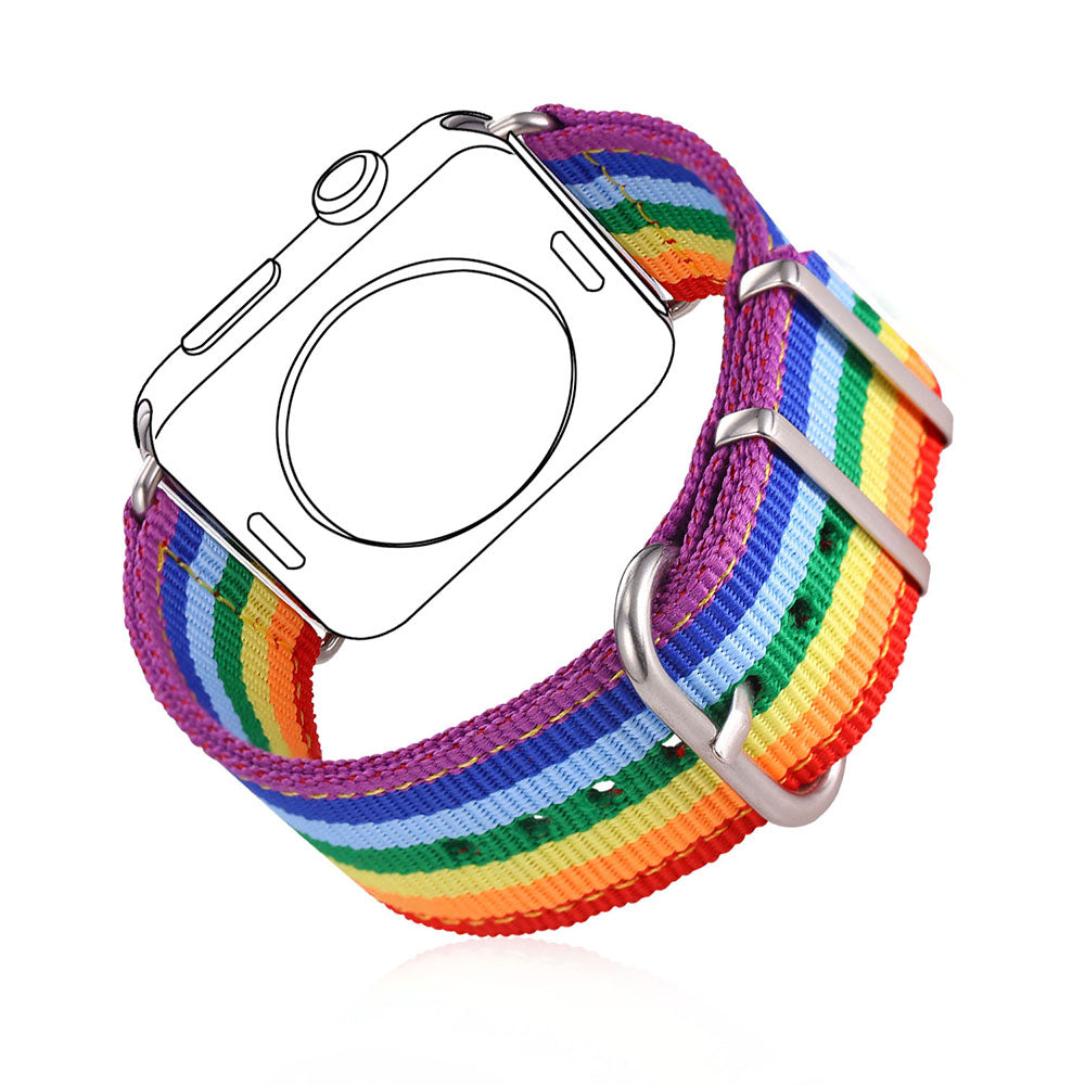 Deluxe Rainbow Watch Strap for Apple Watch