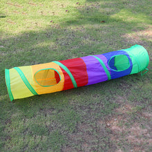 Large Rainbow Cat Tunnel - 120cm