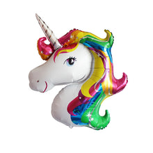 Giant Rainbow Unicorn Foil Balloon Party Decoration