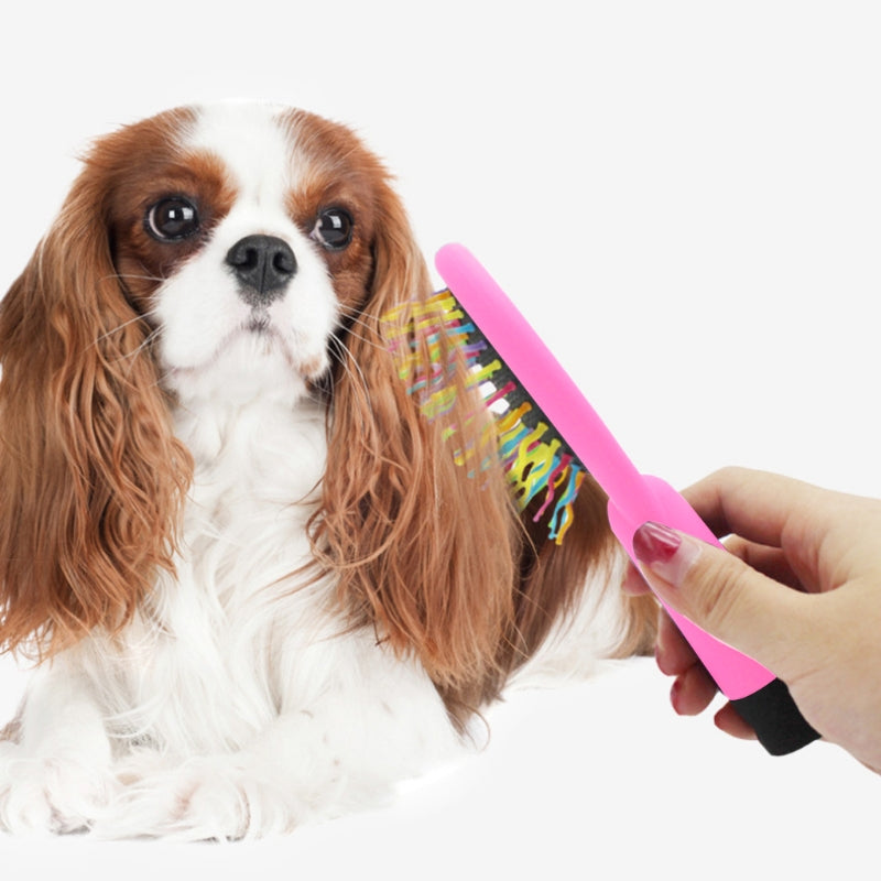 Rainbow Magic Hairbrush For Dog Hair