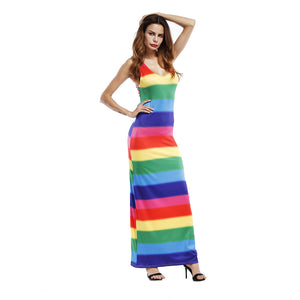 Rainbow Summer Dress