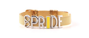Pride Wrap Bracelet in Choice of Colour/Material