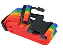 Adjustable Rainbow Travel Luggage Strap