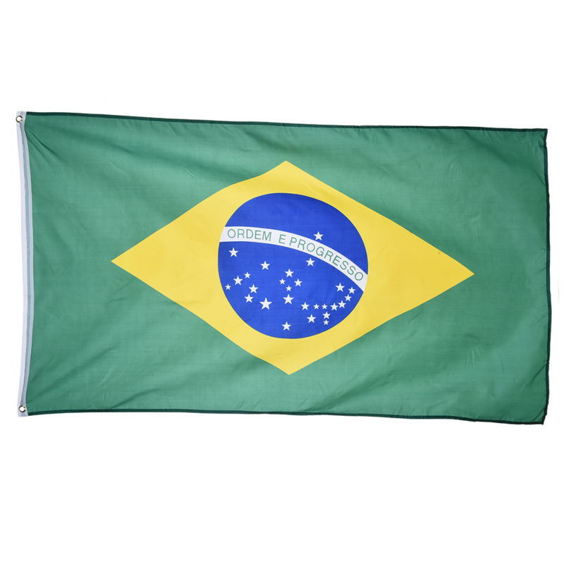 Brazilian Flag 3x5 FT