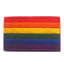 "Rainbow Flag Embroidered Patch 3"" x 2"""