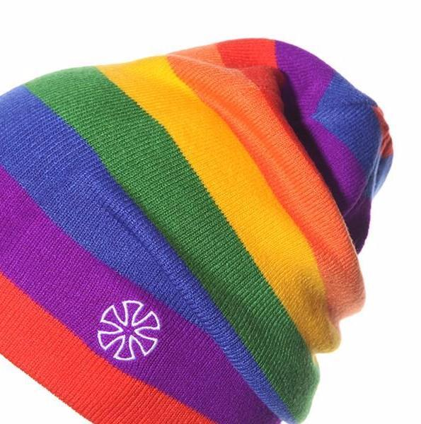 Rainbow Beanie Hat - FREE SHIPPING