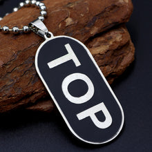 """Top"" Dog-Tag Necklace"