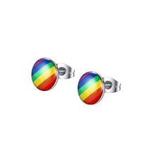 Rainbow PRIDE Stud Earrings