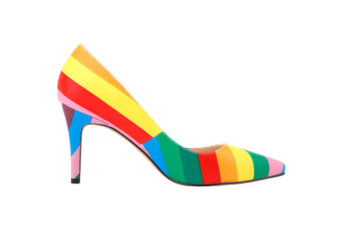 Rainbow High Heel Shoes