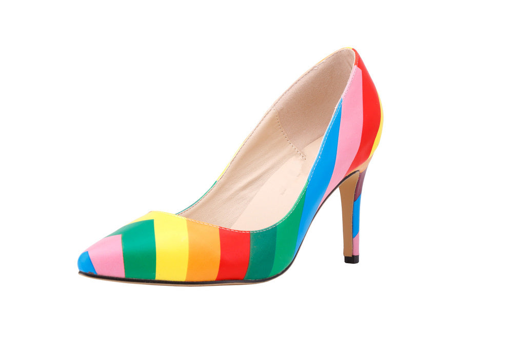 a0b7fc50881a Rainbow High Heel Shoes – Dont Hide Your Pride