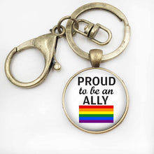 'Proud to be an Ally' Key Chain
