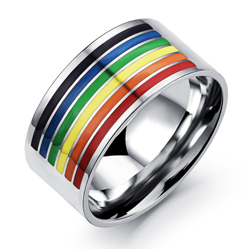 Rainbow Ring for Men or Women