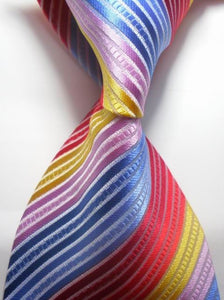 Colourful Striped Neck Tie