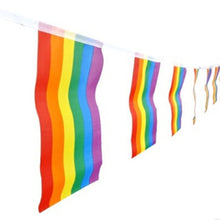 Gay Rainbow Flag Bunting