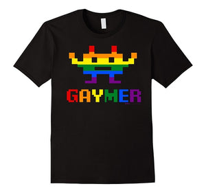'Gay Gaymer' Design T Shirt