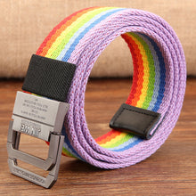 Colorful Rainbow Belt