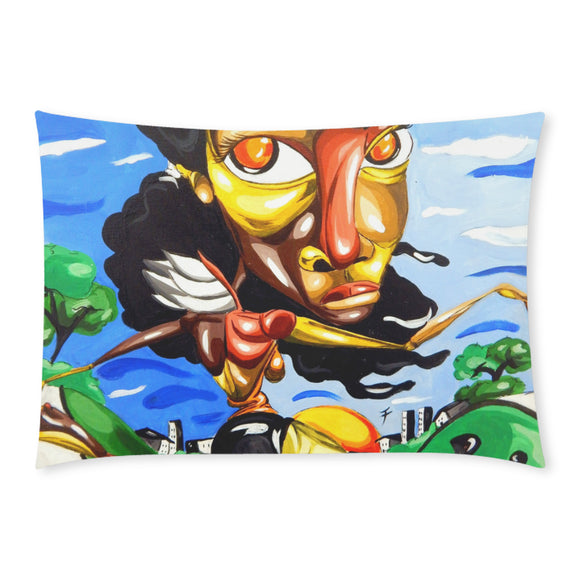 She Bee Dancin' (Rectangle Pillow Case 20x30)