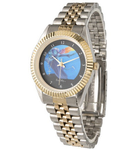 For my Negus with Daughters (Unisex Two-Tone Watch)