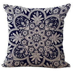 Cushion Cover Geometric Pillow Case Love Halloween Women Bohemian Flamingo Flower Panda Abstract Animal Decorative Throw Pillow