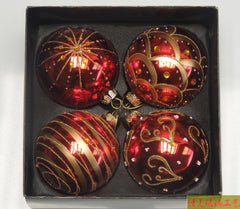 Red Color Balls  Christmas Tree Decoration