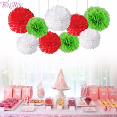 Christmas Decorative Flowers Wreaths