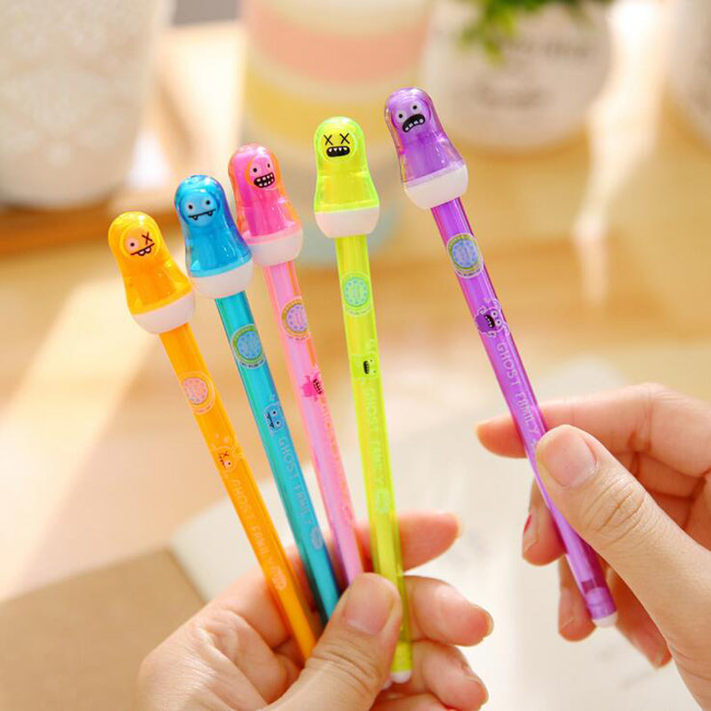 Halloween  Scary Ghost Baby Gel Pen Erasable Writing Signing Pen