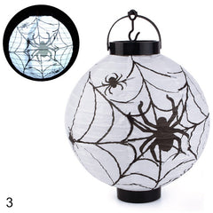 Halloween Decoration LED Paper Pumpkin Light Hanging Lantern Lamp Halloween Props Outdoor Party Supplies #250791